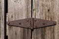 Rusted Hinge. Royalty Free Stock Photo