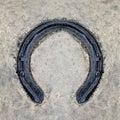 Rusted horseshoe Royalty Free Stock Photo
