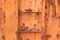 Rusted iron plate Royalty Free Stock Photo
