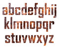 Rusted letters