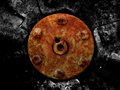 Rusted mechanical background Royalty Free Stock Images
