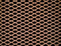 Rusted metal grate Royalty Free Stock Photos