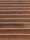 Rusted Metal Storm Drain Stock Photo