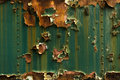 Rusted metal texture closeup photo as a background Royalty Free Stock Photo