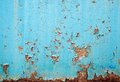 Rusted metal wall background texture Stock Photos