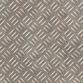 Rusted safety diamond plate sheet seamless background