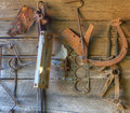 Rusted tools Stock Image