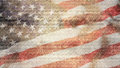 Rustic American Flag Royalty Free Stock Photo