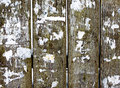 Rustic background old fence cleaning ads Stock Images