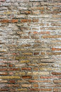 Rustic brick texture in vertical composition Stock Image