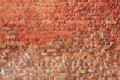 Rustic brick wall Stock Images