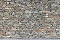 Rustic Dry Stone Wall Royalty Free Stock Image