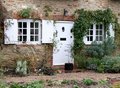 Rustic English Village Cottage Royalty Free Stock Photography