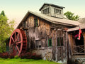 Rustic  home Stock Photography