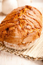 Rustic loaf of bread Stock Images