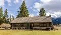 Rustic Log Cabin Royalty Free Stock Photo