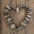 Rustic Love Heart