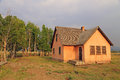 Rustic old farm house Royalty Free Stock Photo