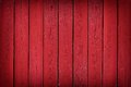 Rustic old red wood plank background with vignette Royalty Free Stock Photo