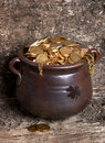 Rustic pot Royalty Free Stock Photo