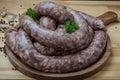 Rustic sausage