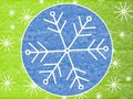 Rustic Snowflake Background 2 Royalty Free Stock Images