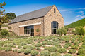 Rustic Stone Winery Building Royalty Free Stock Photography