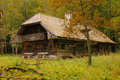 Rustic timber house st bartholoma konigssee germany a in Royalty Free Stock Photos