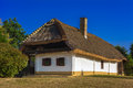 Rustic village house in szalafo hungary europe Stock Image