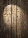 Rustic wood background spotlight a with a spot of light Royalty Free Stock Photo