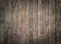 Rustic wood planks background with nice vignetting Royalty Free Stock Photo