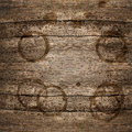 Rustic wooden background with stains Stock Photos