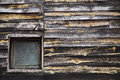 Rustic wooden facade Royalty Free Stock Photo