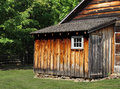 Rustic wooden shed Royalty Free Stock Image