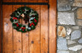 Rustic Wreath Royalty Free Stock Photo