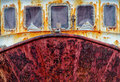 Rusting boat Stock Photos