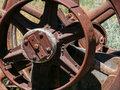 Rusting farm equipment Royalty Free Stock Photo