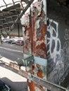 Rusting girder Stock Photos