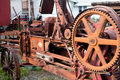 Rusting old vintage farm machinery Royalty Free Stock Photo