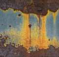 Rusty background abstract corroded colorful wallpaper grunge iron artistic wall peeling paint Stock Photos