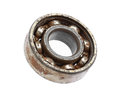 Rusty ball bearing
