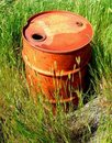 Rusty Barrel Royalty Free Stock Image