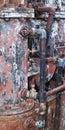Rusty boiler Royalty Free Stock Photo
