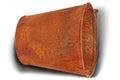 Rusty bucket (Clipping path) Royalty Free Stock Photo