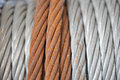Rusty cable Royalty Free Stock Photo