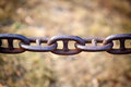 Rusty chain Royalty Free Stock Images