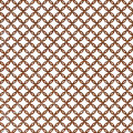 Rust chain mail rings pattern Royalty Free Stock Photo