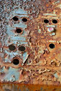 Rusty control box Royalty Free Stock Photos