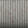 Rusty corrugated iron Royalty Free Stock Image
