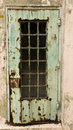 Rusty Door At Alcatraz Stock Photos